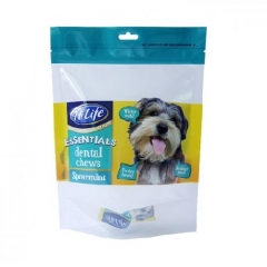 PET food packaging stand up pouch for pet food